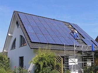 Panneaux solaires - Novoa Charpente - Forel (Lavaux)