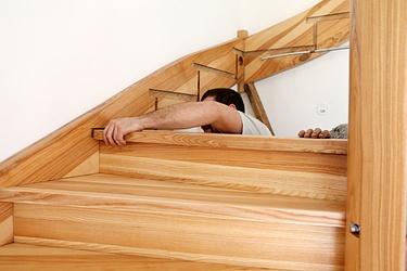 Escaliers - Novoa Charpente - Forel (Lavaux)